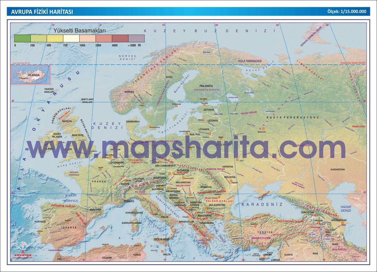 Avrupa fiziki haritası indir avrupa fiziki haritası download