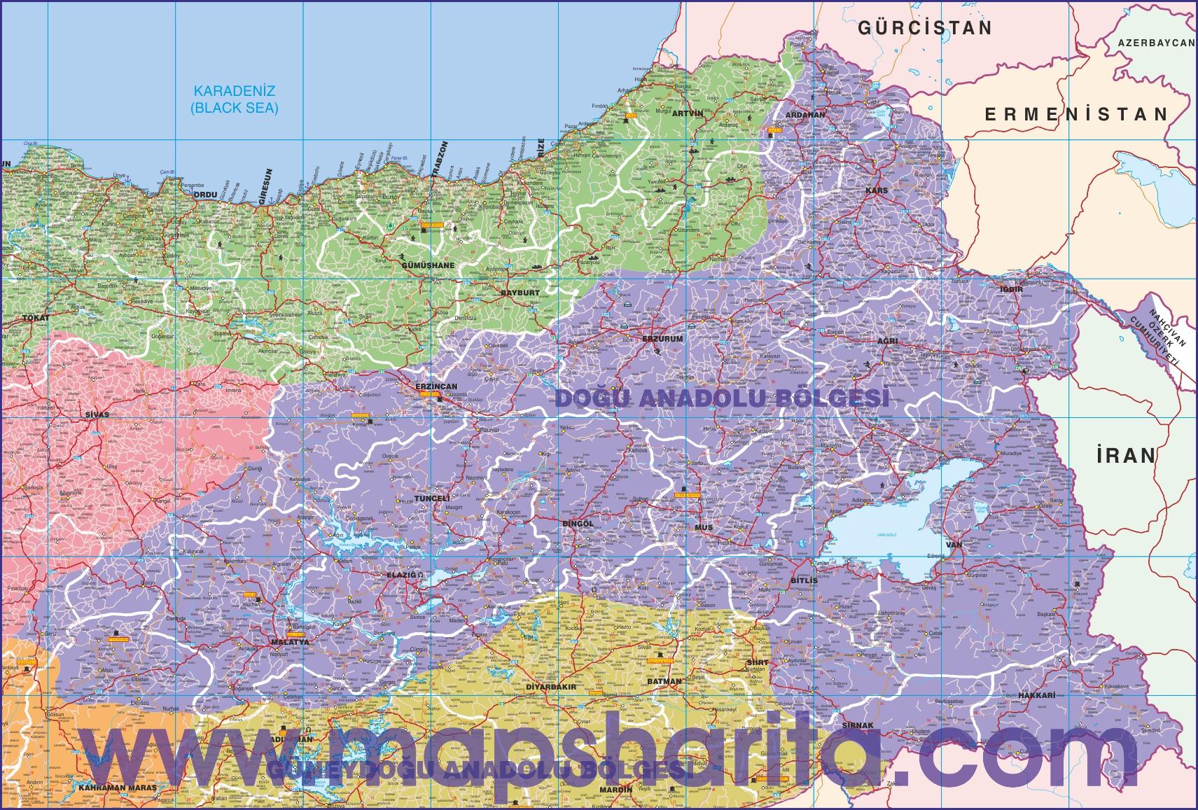 Turkiye Ulasim Haritalari